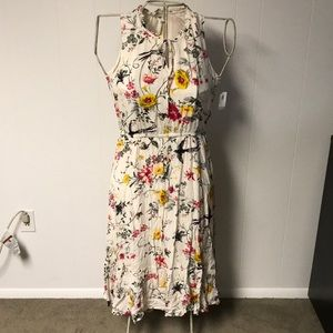 Old Navy Large floral dress with elastic waist